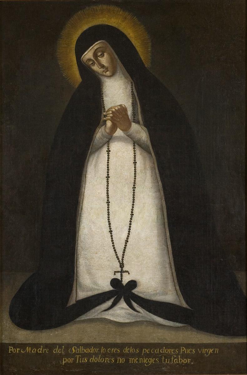 Virgen de la Soledad - 3 Museos