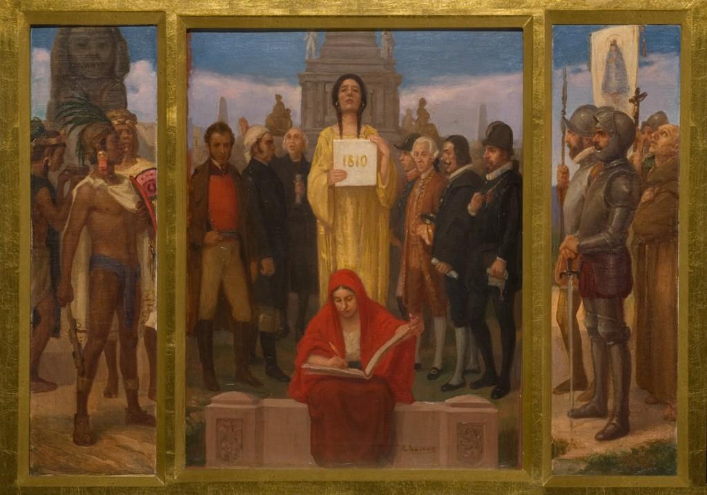 Triptico De La Independencia De Mexico 3 Museos